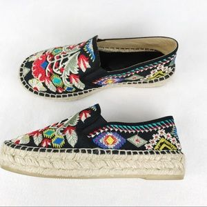 Johnny Was | Catopsia Embroidered Espadrille 39